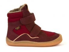 Froddo barefoot winter high boots bordeaux with membrane | 23, 24, 25, 26, 27, 28, 29, 30, 31, 32, 33, 34, 35
