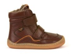 Froddo barefoot winter high boots brown - with membrane | 23, 24, 25, 26, 27, 28, 29, 30, 31, 32, 33, 34, 35