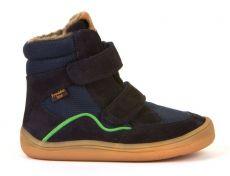 Froddo barefoot winter high boots dark blue - with membrane | 23, 24, 25, 26, 27, 28, 29, 30, 31, 32, 35