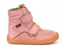 Froddo barefoot winter high boots pink - with membrane | 23, 24, 25, 26, 27, 28, 29, 30, 31, 32, 33, 34, 35