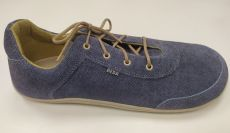 Beda barefoot leather shoes - jeans | 44, 45