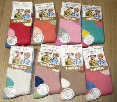 Protiskluzové termo ponožky pro holky