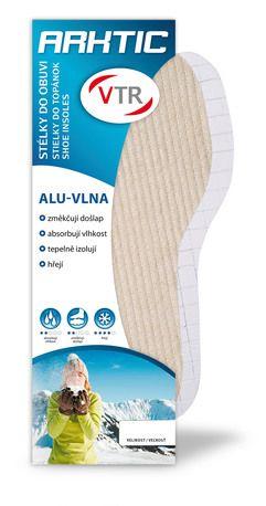 Barefoot Vložky do bot ALU-Vlna bosá