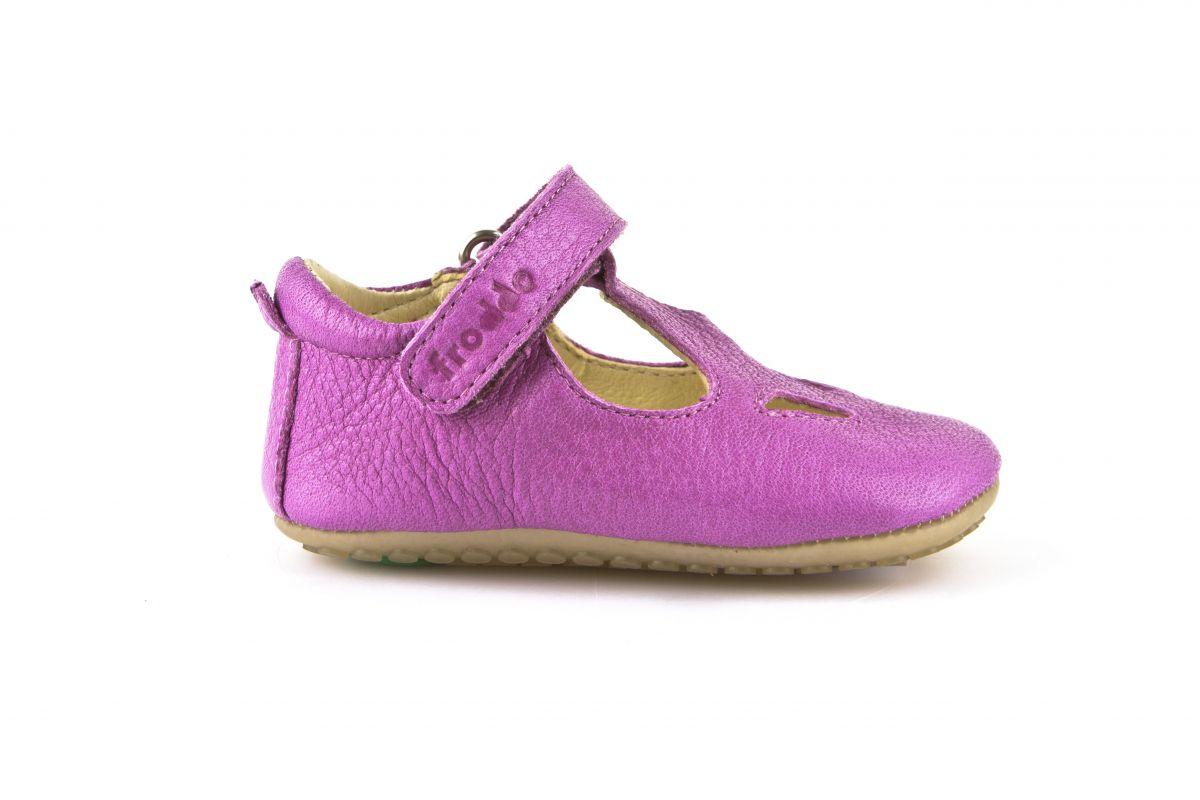 Barefoot Froddo prewalkers sandálky fuchsia bosá
