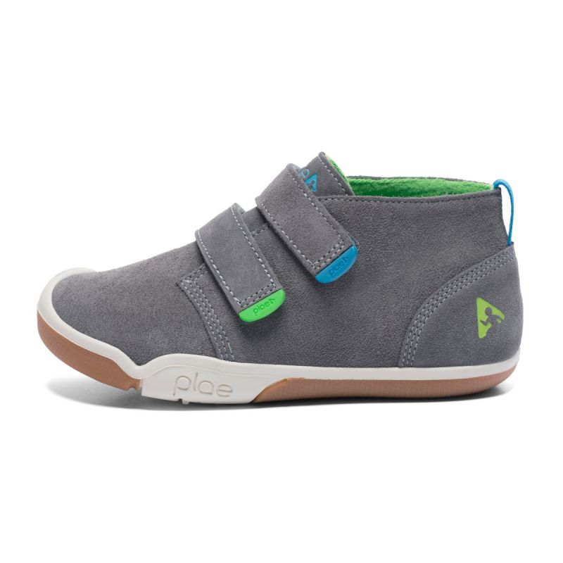 Barefoot Plae Lou Suede Charcoal bosá