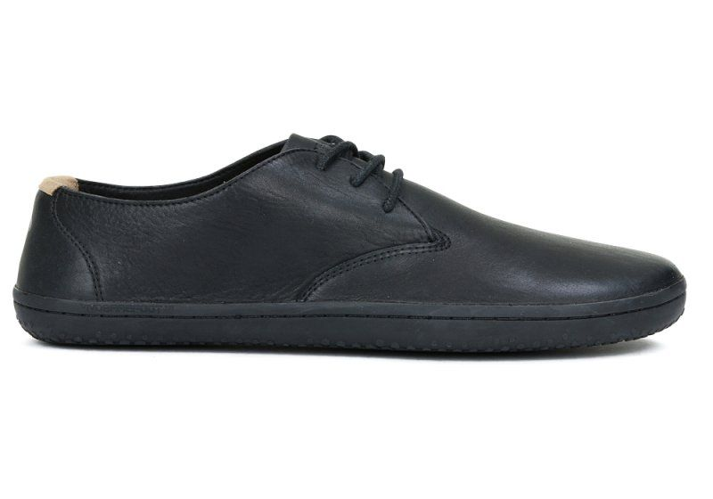 Barefoot Vivobarefoot RA J Leather Black/Hide bosá