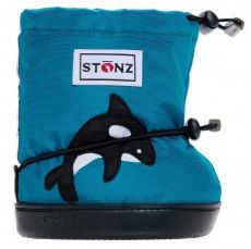STONZ booties Orca Teal PLUSfoam