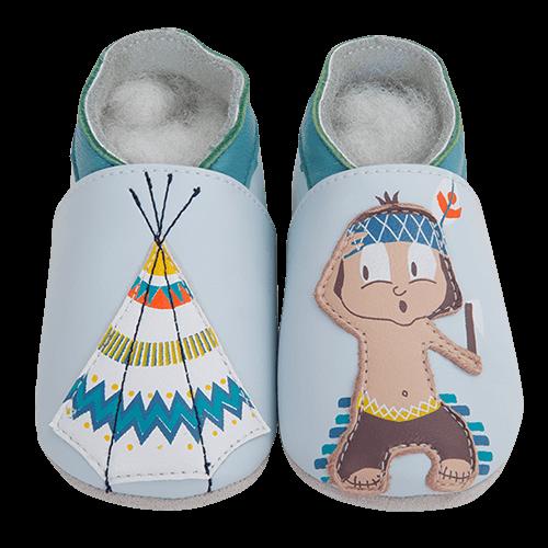 Barefoot Capáčky Lait et Miel indián bosá