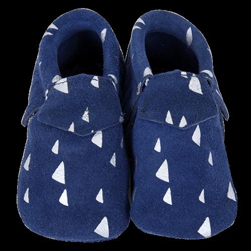 Barefoot Capáčky Lait et Miel modré bosá
