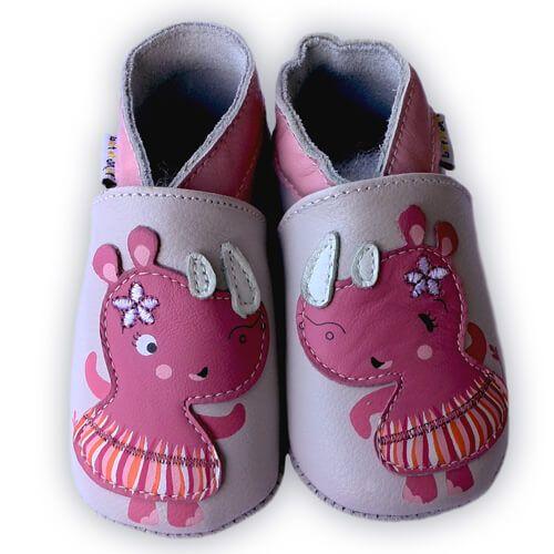 Barefoot Capáčky Lait et Miel nosorožec bosá