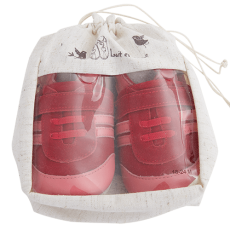 Barefoot Capáčky Lait et Miel tenisky červené bosá