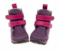 ZeaZoo Yeti purple/fuchsia Sheepskin