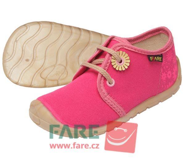 Barefoot FARE BARE DĚTSKÉ TENISKY 5011451 bosá