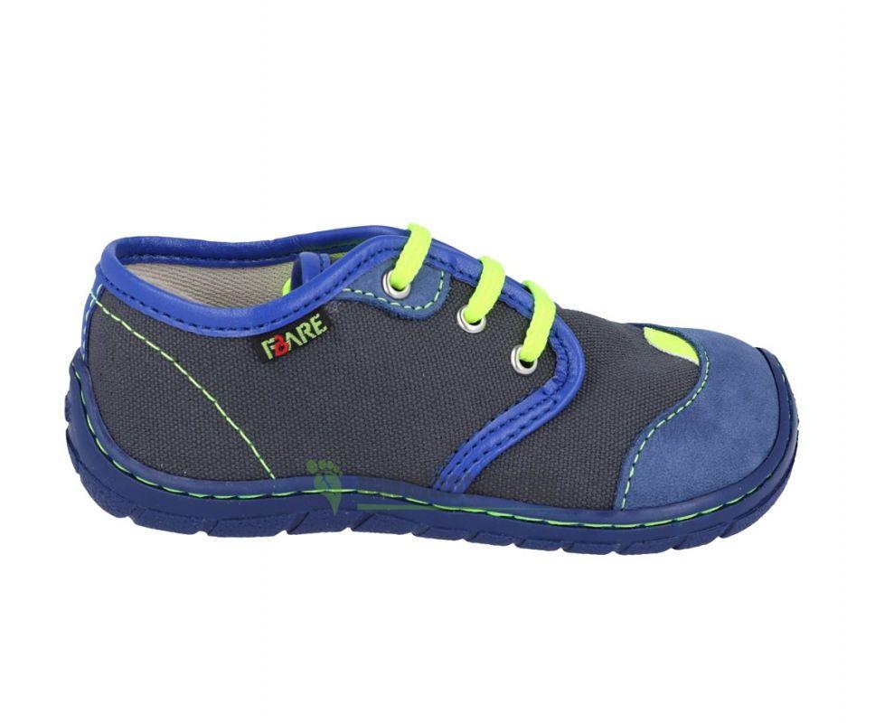 Barefoot FARE BARE DĚTSKÉ TENISKY 5111401 bosá