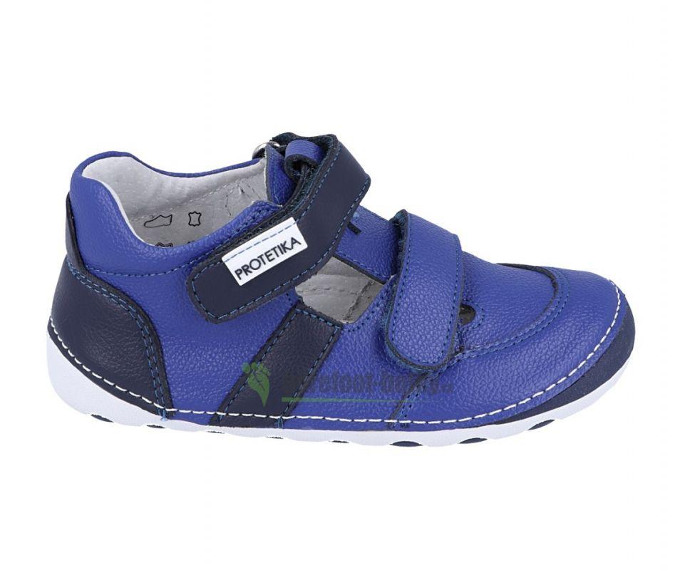 Barefoot Protetika FLIP NAVY - sandálky bosá